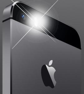 iPhone 5s LED flash alert