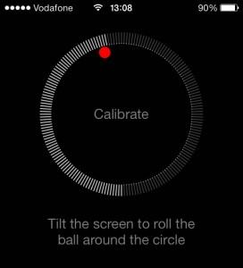 iphone compass calibration