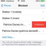 blocked callers