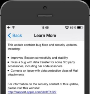ios 7.1.2 updates