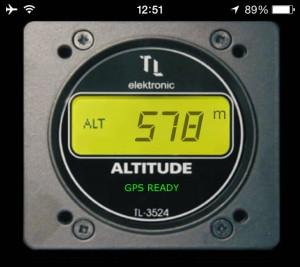 iphone altimeter
