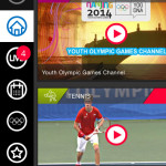 olympic tv app menu