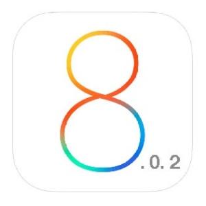 ios 8.0.2 logo