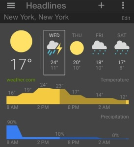 google news & weather app for ios