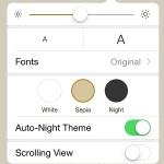 ibooks legibility settings