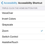 iphone brightness home button shortcut