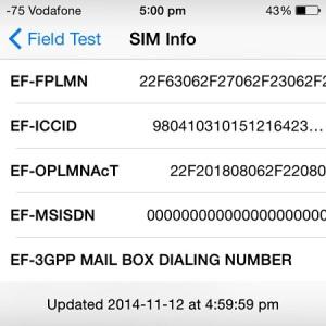 iphone secret field test
