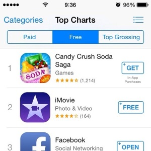 new app store get and get+ buttons