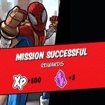 spider-man unlimited mission rewards