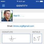 docusign specimen signature