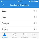 duplicate iphone contacts