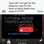 nintype battery saving zenmode
