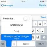 nintype keyboard activation