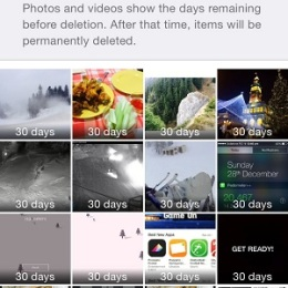 recently deleted ios photos and videos
