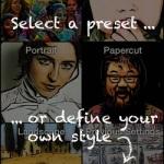 selecting pic2mac photo preset