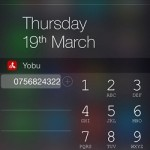 adding new ios contact via yobu