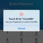 coverme touch id fingerprint integration