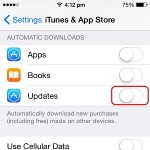 enable app store automatic downloads