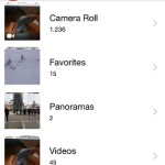 iOS Photos Albums