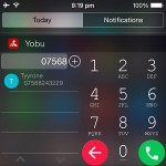iphone smart dialing with yobu