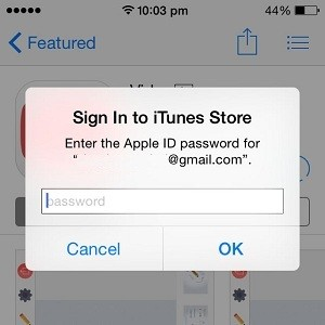 app store bypassing touchid