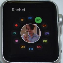 apple watch friends list