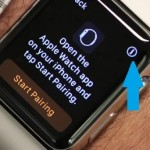 apple watch name info icon