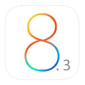 ios 8.3 logo