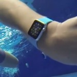 swimming with apple watch