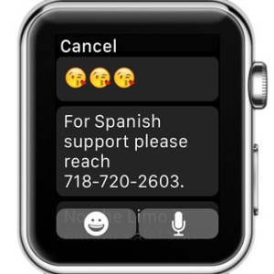 Apple Watch Default Message Replies