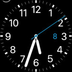 alarm clock on apple watch face