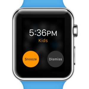 alarm ringing on apple watch