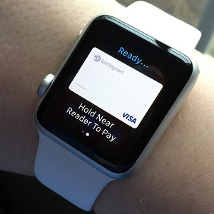 apple pay activated on apple watch