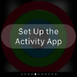Apple Watch Activity app Setup.