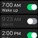 apple watch alarm app