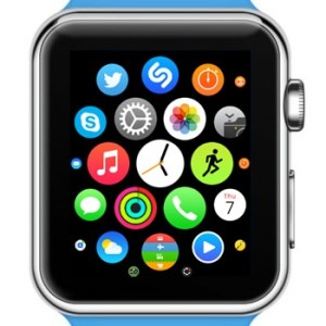 apple watch app home screen