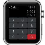 apple watch calculator multiplication