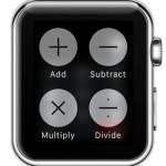 apple watch calculator operations