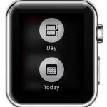 apple watch calendar app force touch
