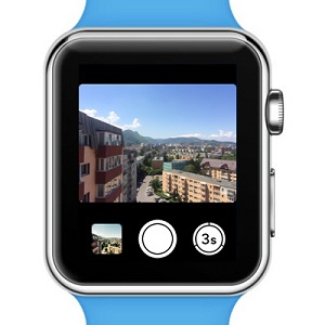 apple watch camera app with remote viewfinder