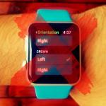 apple watch digital crown orientation on left side