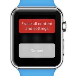 apple watch force reset screen