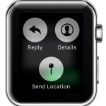 apple watch force touch message options