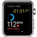 apple watch heart rate value in workout app