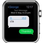apple watch message conversation thread