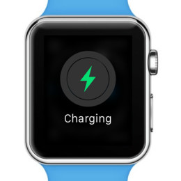 apple watch now charging screen