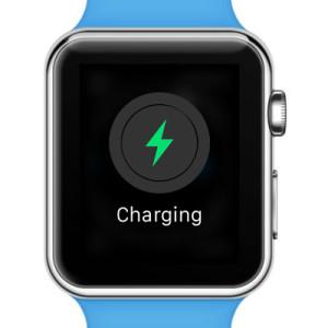 apple watch now charging screen
