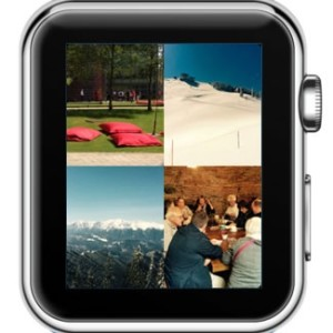 apple watch photos app