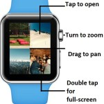 apple watch photos app commands