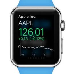 apple watch stocks glance